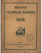 Magyar földrajzi évkönyv 1928 - gróf Teleki Pál