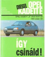 Opel Kadett E Diesel - Etzold, Hans-Rüdiger