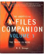The Unofficial X-Files Volume 3 - GENGE, N.E.