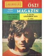 Labdarúgás őszi magazin különszám 1979 - Tabák Endre