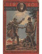 Hangya naptár 1940. - Zoltán Gyula