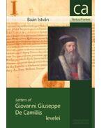 Giovanni Giuseppe De Camillis levelei - Baán István