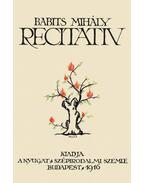 Recitativ - Babits Mihály