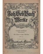 Mer hahn en neue Oberkeet (Bauernkantate) - Bach, Johann Sebastian