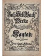 Weltliche kantaten Nr. 212 - Bach, Johann Sebastian