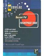 Frontpage 2000 - Baczoni Pál