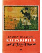 Bakony-balatoni kalendárium 1994 - Varga Béla