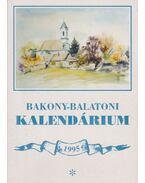 Bakony-balatoni kalendárium 1995 - Varga Béla