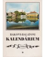 Bakony-balatoni kalendárium 1996 - Varga Béla