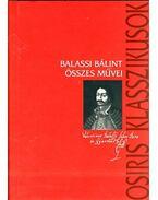 Balassi Bálint összes művei - Balassi Bálint