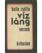 Vízláng (dedikált) - Balla Zsófia