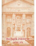 Ballagók évkönyve DOTE 1978