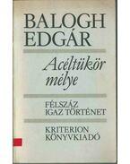 Acéltükör mélye (dedikált) - Balogh Edgár