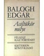 Acéltükör mélye - Balogh Edgár