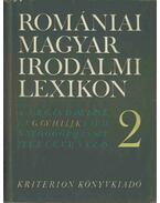 Romániai magyar irodalmi lexikon 2. G-Ke (dedikált) - Balogh Edgár