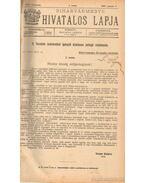 Biharvármegye hivatalos lapja 1915. (teljes) - Balogh János