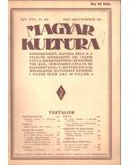 Magyar kultúra 1927 szeptember 20. - Bangha Béla S. J.