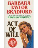 Act of Will - Barbara Taylor BRADFORD