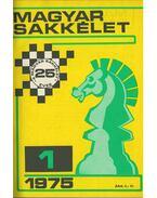 Magyar sakkélet 1975/1976 (teljes) - Bárczay László