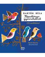 Képeskönyv gyermekeknek - CD melléklettel - Bartók Béla