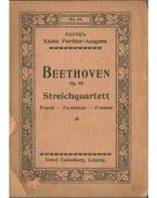Streichquartett (Op. 95) - Beethoven, Ludwig van