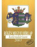 Békés Megyei Hírlap kalendárium 2003.