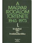 Irodalmi élet és irodalomkritika - Béládi Miklós