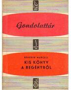 Kis könyv a regényről - Benedek Marcell