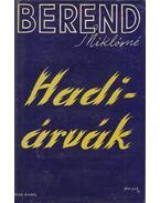 Hadiárvák - Berend Miklósné