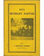 Bethlen naptár 1974 - Bertalan Imre, Illés Lajos, Kovács Pál