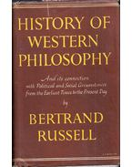 A History of Western Philsophy - Bertrand Russell