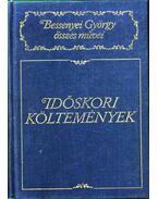 Időskori költemények - Bessenyei György