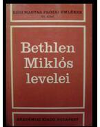 Bethlen Miklós levelei I-II. - Bethlen Miklós