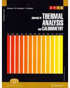 Bíbor és Journal of Thermal Analysis and Calometry: An International Forum for Thermal Stusies Volume 114. Number 1-2.