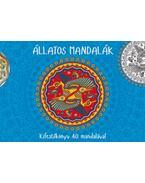 Állatos mandalák - Kifestőkönyv 40 mandalával - Bioenergetic Kft.