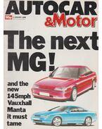 Autocar & Motor 1989 January 4 - Bob Murray