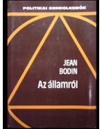 Az államról - Bodin, Jean