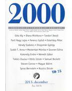 2000 folyóirat 2013. 25. évf. 12. szám december - Bojtár Endre