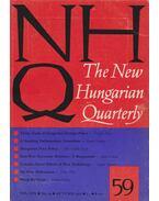 The New Hungarian Quarterly 59. - Boldizsár Iván