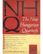 The New Hungarian Quarterly 89 - Spring 1983 - Boldizsár Iván