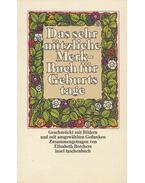 Das sehr nützliche Merk-Buch für Geburtstage - Borchers, Elisabeth