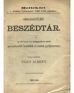 Országgyűlési Beszédtár - Pákh Albert (szerk.)