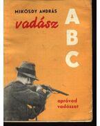 Vadász ABC - Mikósdy András