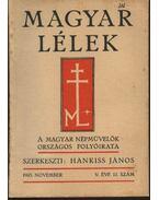 Magyar Lélek 1943. november - Hankiss János