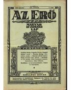 Az Erő (1930. 2.sz.) - Szőllősy István