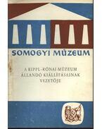 A Rippl-Rónai múzeum állandó kiállításának vezetője - Takáts Gyula