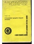 A közoktatási igazgatás központi irányítása (dedikált) - Verebélyi Imre