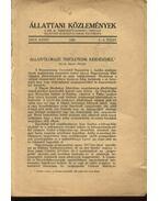 Állatföldrajzi területeink kérdéséhez - Szilády Zoltán