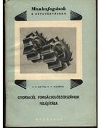 Gyorsacél forgácsolószerszámok felújítása - Satin, V. P., Kuzmin, V.V.