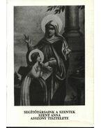 Segítőtársaink a szentek szent Anna asszony tiszteletére - Ipolyvölgyi Németh J. Krizosztom